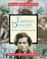 Cover image for Frederick Douglass : leader against slavery
