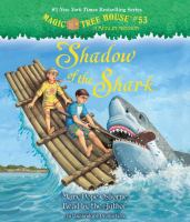 Cover image for Shadow of the shark [sound recording (book on CD)]