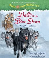 Cover image for Balto of the Blue Dawn [sound recording (book on CD)]