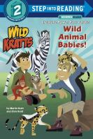 Cover image for Wild animal babies!