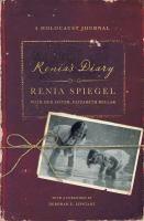 Cover image for Renia's diary : a Holocaust journal