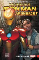 Cover image for Invincible Iron Man. Ironheart