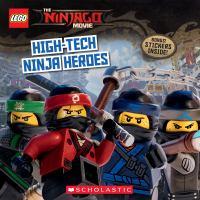 Cover image for High-tech ninja heroes