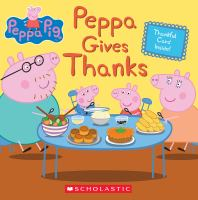 Cover image for Peppa gives thanks