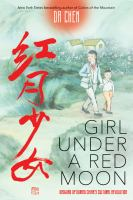 Cover image for Girl under a red moon