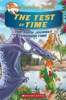 Cover image for The test of time : the sixth journey through time