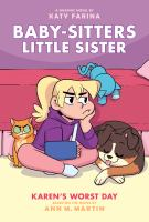 Cover image for Baby-sitters little sister. 3, Karen's worst day