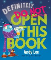 Cover image for Definitely do not open this book