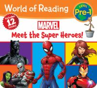 Cover image for Meet the super heroes!