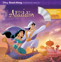 Cover image for Aladdin : read-along storybook and CD