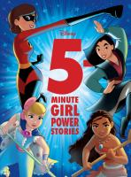 Cover image for 5-minute girl power stories.