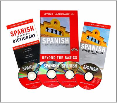 Cover image for Spanish [sound recording (book on CD)] : beyond the basics.