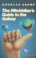 Cover image for The hitchhiker's guide to the galaxy
