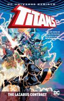Cover image for Titans. The Lazarus contract