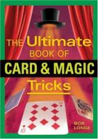 Cover image for The ultimate book of card & magic tricks