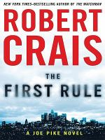 Cover image for The first rule  [large type]
