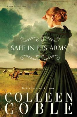 Cover image for Safe in his arms  [large type]