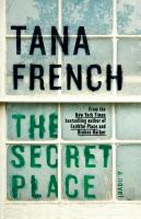 Cover image for The secret place [large type]