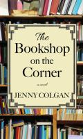 Cover image for The bookshop on the corner [large type]