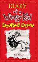 Cover image for Diary of a wimpy kid [large type] : double down