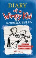 Cover image for Diary of a wimpy kid [large type] : Rodrick rules