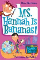 Cover image for Ms. Hannah is bananas!