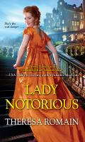 Cover image for Lady notorious