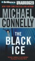 Cover image for The black ice [sound recording (book on CD)]