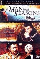 Cover image for A man for all seasons [videorecording (DVD)]