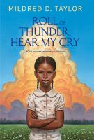 Cover image for Roll of thunder, hear my cry [large type]