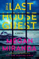 Cover image for The last house guest [large type]
