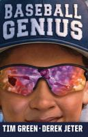 Cover image for Baseball genius [large type]