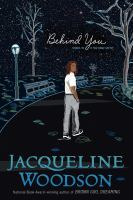 Cover image for Behind you [large type]