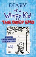 Cover image for Diary of a wimpy kid : the deep end  [large type]