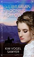Cover image for The librarian of Boone's Hollow [large type] : a novel