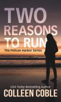 Cover image for Two reasons to run [large type]