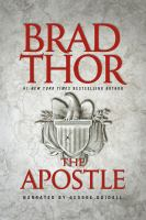 Cover image for The apostle [sound recording (book on CD)]