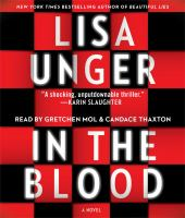 Cover image for In the blood [sound recording (book on CD)]