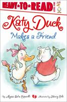 Cover image for Katy Duck makes a friend