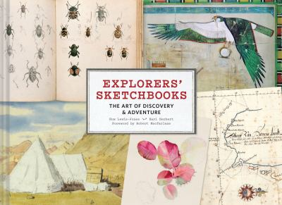 Cover image for Explorers' sketchbooks : the art of discovery & adventure