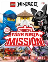 Cover image for Choose your ninja mission