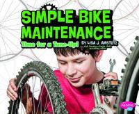 Cover image for Simple bike maintenance : time for a tune-up!