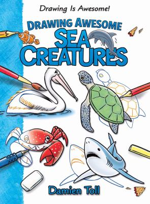 Cover image for Drawing awesome sea creatures