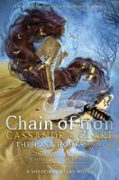 Cover image for Chain of iron
