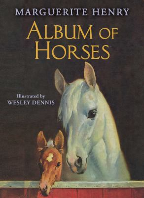 Cover image for Album of horses