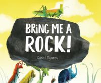 Cover image for Bring me a rock!