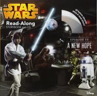Cover image for Star wars. Episode IV, A new hope : read-along storybook and CD