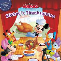 Cover image for Mickey's Thanksgiving