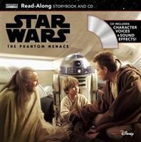 Cover image for Star wars, the phantom menace : read-along storybook and CD