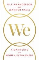 Cover image for We : a manifesto for women